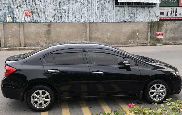 Chủ từ đầu bán Honda Civic AT 1.8 đời 2015 màu đen đi ít Odo 43.000km LH 09813198881