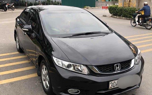 Chủ từ đầu bán Honda Civic AT 1.8 đời 2015 màu đen đi ít Odo 43.000km LH 09813198888