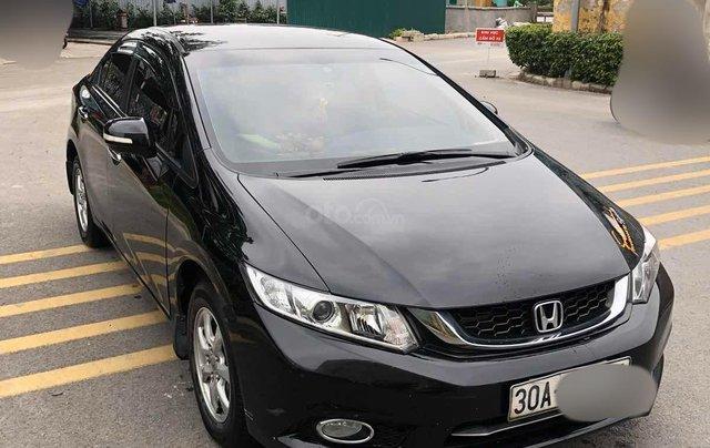 Chủ từ đầu bán Honda Civic AT 1.8 đời 2015 màu đen đi ít Odo 43.000km LH 098131988810