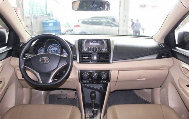 Bán xe Toyota Vios sản xuất năm 2017, màu xám, giá cạnh tranh7