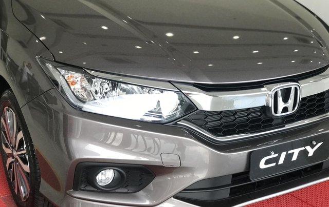 Giảm giá tiền mặt và gói phụ đi kèm, khi mua xe Honda City 1.5 TOP CVT đời 2019, màu xám6