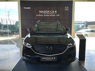 Ưu đãi khủng lên đến 150tr, Mazda Cx-8 Premium, đen0