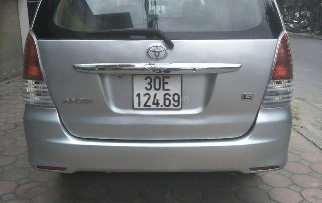 Bán Toyota Innova G sản xuất 2009 số sàn biển HN chính chủ, công chức chạy ít xe còn rất đẹp2
