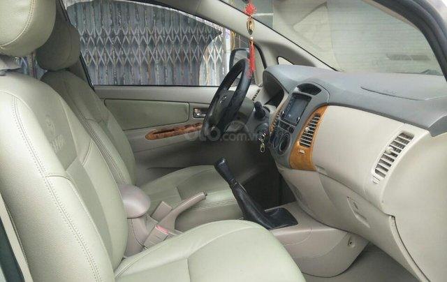 Bán Toyota Innova G sản xuất 2009 số sàn biển HN chính chủ, công chức chạy ít xe còn rất đẹp7