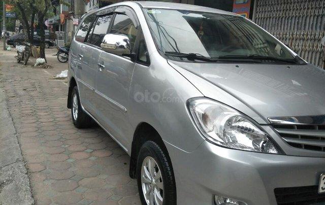 Bán Toyota Innova G sản xuất 2009 số sàn biển HN chính chủ, công chức chạy ít xe còn rất đẹp4