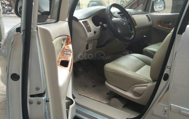 Bán Toyota Innova G sản xuất 2009 số sàn biển HN chính chủ, công chức chạy ít xe còn rất đẹp15