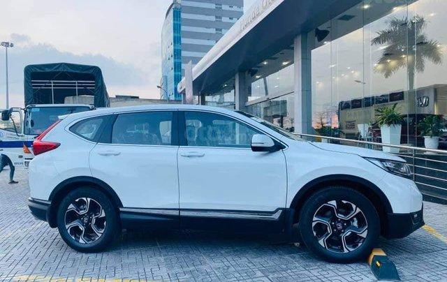 Honda ô tô Long Biên - Xả kho cuối năm chiếc xe Honda CR V 1.5L đời 2019, màu trắng - Giao nhanh toàn quốc2