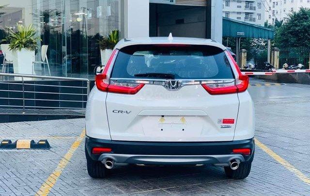 Honda ô tô Long Biên - Xả kho cuối năm chiếc xe Honda CR V 1.5L đời 2019, màu trắng - Giao nhanh toàn quốc3