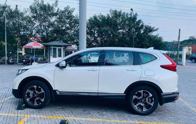 Honda ô tô Long Biên - Xả kho cuối năm chiếc xe Honda CR V 1.5L đời 2019, màu trắng - Giao nhanh toàn quốc5