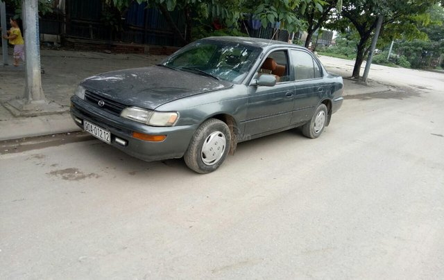 Bán xe Toyota Corolla sản xuất 1992, màu xám (ghi) ít sử dụng giá 70 triệu đồng0