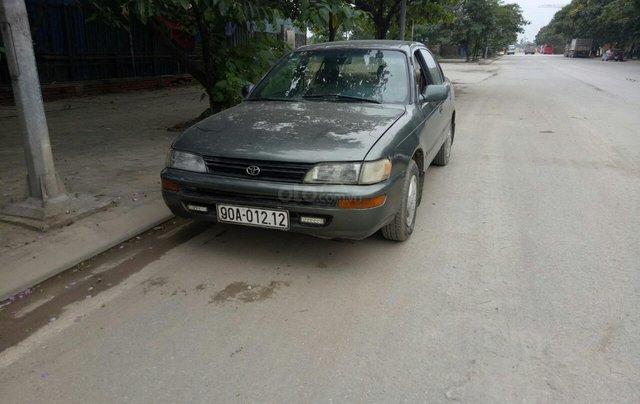 Bán xe Toyota Corolla sản xuất 1992, màu xám (ghi) ít sử dụng giá 70 triệu đồng1