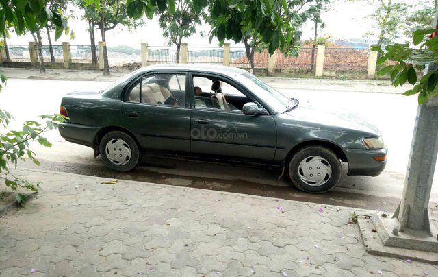 Bán xe Toyota Corolla sản xuất 1992, màu xám (ghi) ít sử dụng giá 70 triệu đồng2