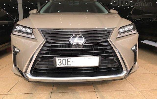 Cần bán xe Lexus RX 350 sản xuất 2016 vàng cát đăng ký cá nhân xe siêu đẹp0