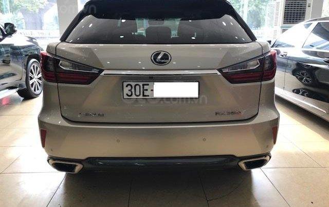 Cần bán xe Lexus RX 350 sản xuất 2016 vàng cát đăng ký cá nhân xe siêu đẹp4