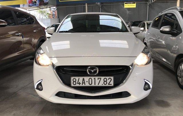 Bán Mazda 2 1.5AT Sedan màu trắng số tự động sản xuất 2016 xe đẹp chuẩn0