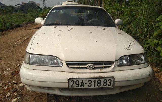 Cần bán lại xe Hyundai Sonata đăng ký 1995, màu trắng còn mới giá tốt 65 triệu đồng0