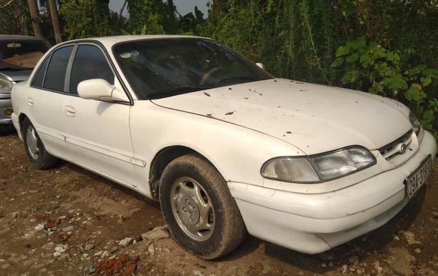 Cần bán lại xe Hyundai Sonata đăng ký 1995, màu trắng còn mới giá tốt 65 triệu đồng1