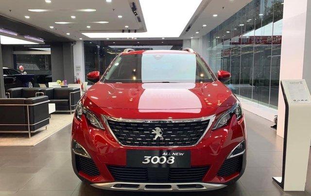Peugeot 3008 Đỏ giao ngay trước Tết, giá ưu đãi tại Bình Dương0