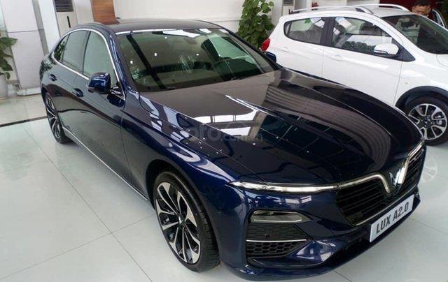 Vinfast Ô Tô Mỹ Đình bán nhanh chiếc xe VinFast LUX A2.0 năm sản xuất 2019, màu xanh lam2