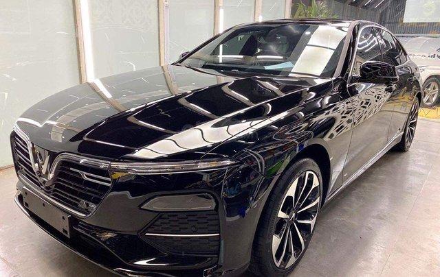 Vinfast Ô Tô Mỹ Đình bán nhanh chiếc xe VinFast LUX A2.0 năm sản xuất 2019, màu xanh lam0