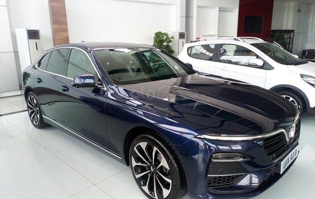 Vinfast Ô Tô Mỹ Đình bán nhanh chiếc xe VinFast LUX A2.0 năm sản xuất 2019, màu xanh lam4