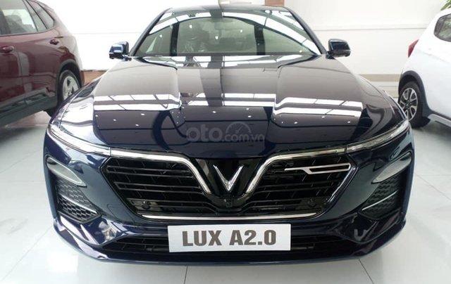 Vinfast Ô Tô Mỹ Đình bán nhanh chiếc xe VinFast LUX A2.0 năm sản xuất 2019, màu xanh lam5