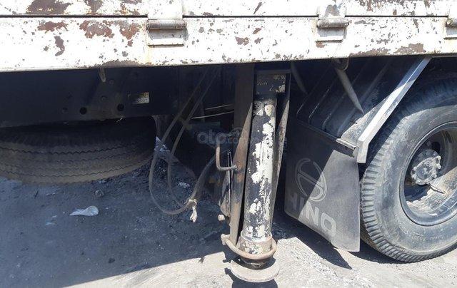 Xe tải Hino FC9JLSW gắn cần cẩu Unic 3 tấn 5 khúc đời 20152