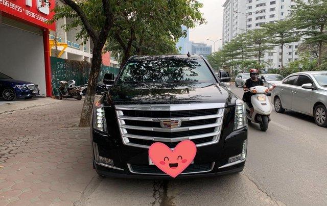 Cần bán Cadillac Escalade ESV Premium 2015, màu đen0
