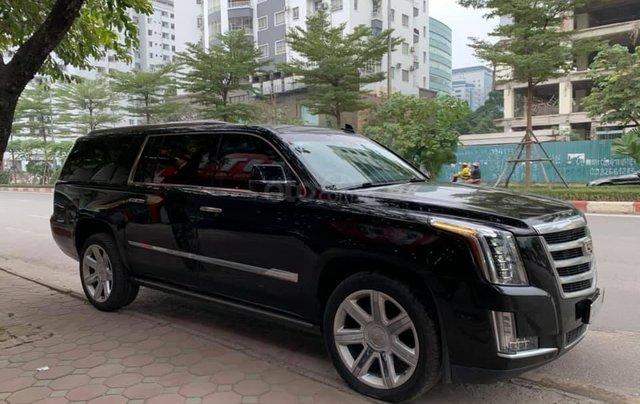 Cần bán Cadillac Escalade ESV Premium 2015, màu đen4