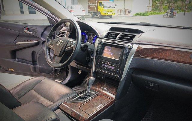 Bán ô tô Toyota Camry sản xuất 2015, màu đen còn mới giá 845 triệu đồng3
