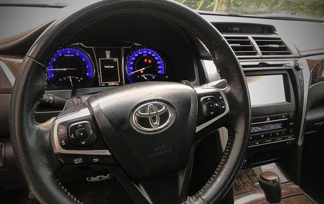 Bán ô tô Toyota Camry sản xuất 2015, màu đen còn mới giá 845 triệu đồng7