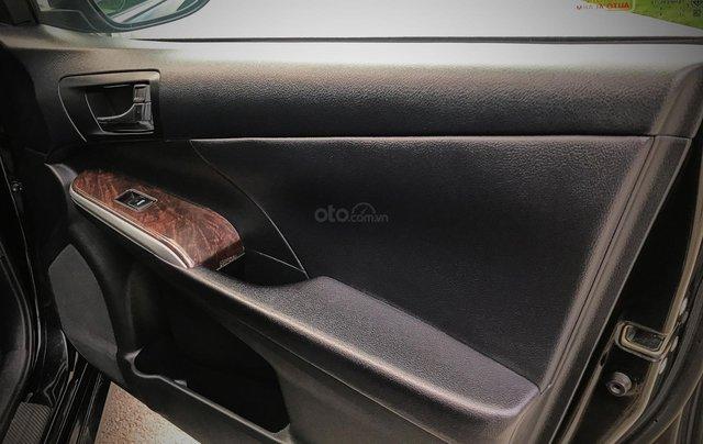 Bán ô tô Toyota Camry sản xuất 2015, màu đen còn mới giá 845 triệu đồng8