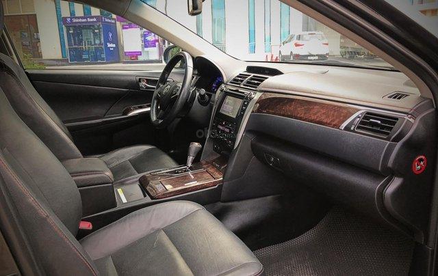 Bán ô tô Toyota Camry sản xuất 2015, màu đen còn mới giá 845 triệu đồng11