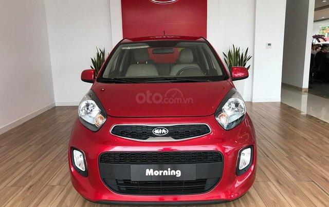 Giao xe toàn quốc, Kia Morning Luxury đời 2019, màu đỏ giá cạnh tranh0