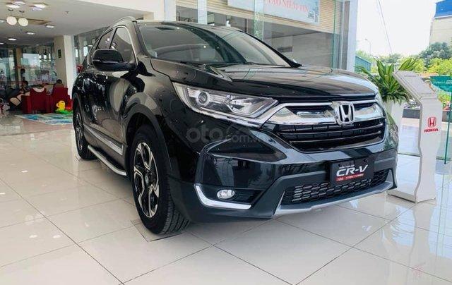 Honda ô tô Long Biên - Giảm giá sốc khi mua chiếc  Honda CR V 1.5G 2019, màu đen, nhập khẩu 0