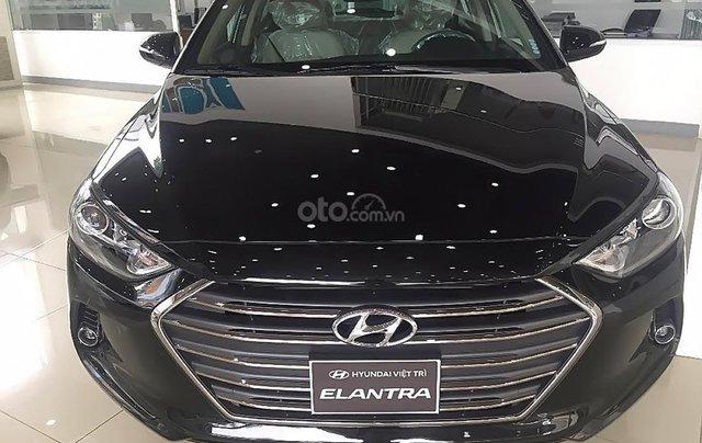 Hyundai Bà Rịa - Vũng Tàu cần bán Hyundai Elantra 1.6 MT 2019, màu đen, giá rẻ