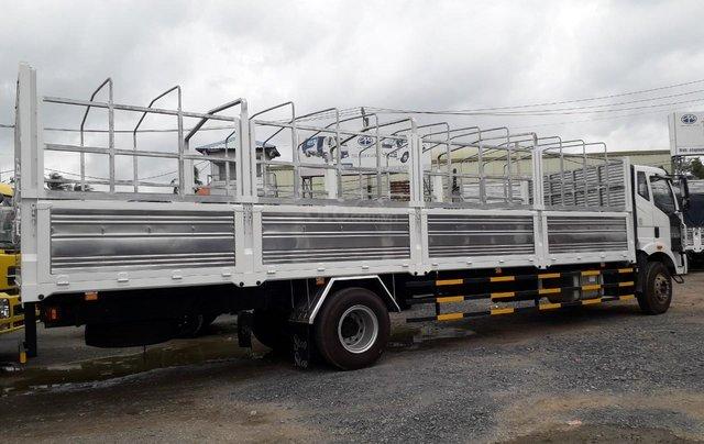 Bán Faw xe tải thùng năm 2019, màu trắng, xe nhập4