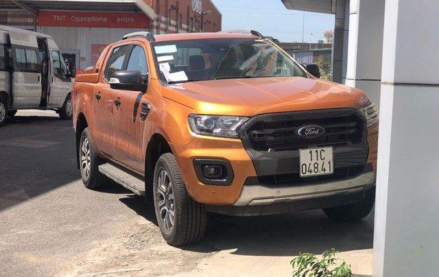 Bán xe Ford Ranger Wildtrak Biturbo 2019, đủ màu, giá tốt, tặng full phụ kiện, LH 09118195550