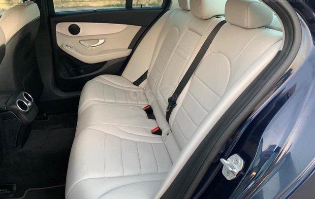 Cần bán Mercedes C200 đời 2015 màu xanh cavansite nội thất kem7