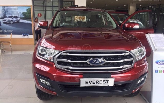 Bán Ford Everest phiên bản cao cấp Titanium đời 2019, đủ màu, nhập khẩu, giao ngay, LH: 09118195550