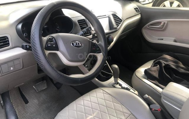 Cần bán Kia Morning Van đời 2014, màu trắng Full option 4 phanh ABS7