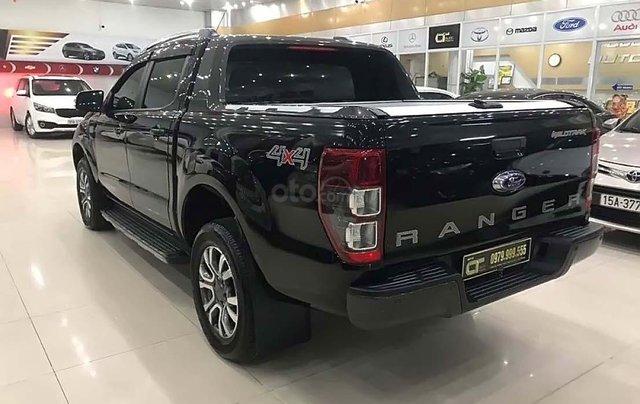 Xe Ford Ranger Wildtrak 3.2L 4x4 AT 2017, màu đen, nhập khẩu nguyên chiếc  1