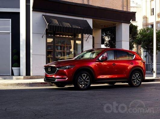 Xả hàng cuối năm chiếc xe Mazda CX 5  New Deluxe đời 2019, màu đỏ1