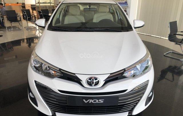 Bán Toyota Vios 1.5G sản xuất năm 2020, màu trắng, 550 triệu
