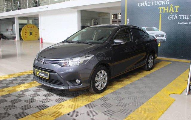 Toyota Vios E 1.5AT 2017, có kiểm định chất lượng, trả góp 70%1
