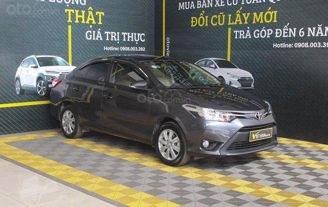 Toyota Vios E 1.5AT 2017, có kiểm định chất lượng, trả góp 70%0