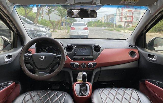 Cần bán Hyundai Grand i10 đời 2017, màu bạc, nhập khẩu nguyên chiếc11