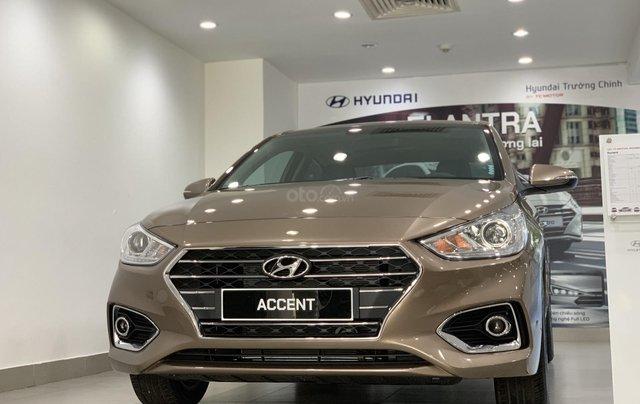 Giao xe toàn quốc, Hyundai Accent 1.4 bản đủ đời 2019, màu nâu, số tự động0
