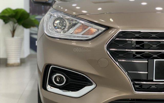 Giao xe toàn quốc, Hyundai Accent 1.4 bản đủ đời 2019, màu nâu, số tự động1