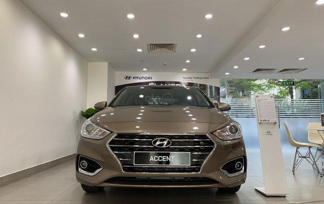 Giao xe toàn quốc, Hyundai Accent 1.4 bản đủ đời 2019, màu nâu, số tự động2